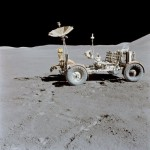 Lunar Rover Final Resting Place